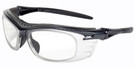 Global Vision Eyewear Full Lens RX Safety Series Y28DPF760 in Carbon