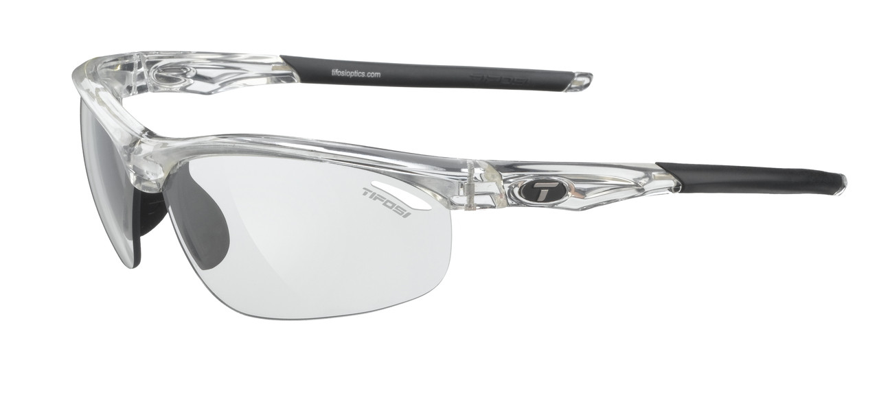 1f912a8450e Tifosi High Performance Sunglasses Veloce in Crystal-Clear   Light Night  Fototec™ Lens. Image 1. Loading zoom