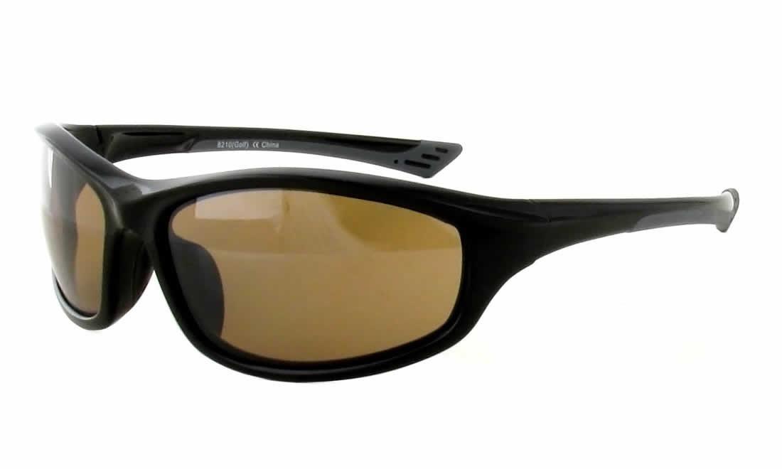 ead76703f57 Calabria Golf Sport Sunglasses 8210 in Gloss Black - Rhino Safety ...