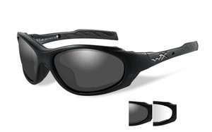 49d870cc41 Wiley X XL-1 Advanced Safety Sunglasses in Matte Black with Smoke Clear Lens  Set. Loading zoom
