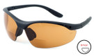 Calabria 91348 Bi-Focal Safety Glasses UV Protection in Copper