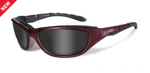 2b72a864bda Wiley X Airrage Sport Sunglasses in Liquid Plum   Smoke - Rhino ...