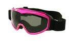 Large Ski / Safety Goggles w/ Anti-Fog lenses & Head Strap in Pink G93SD