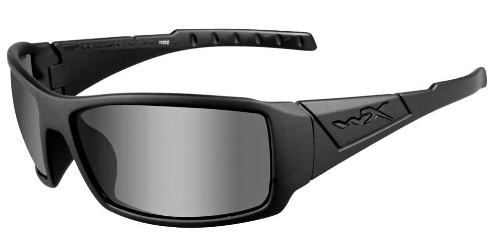 59cab07116 Wiley X Twisted in Matte Black   Polarized Grey - Rhino Safety Glasses