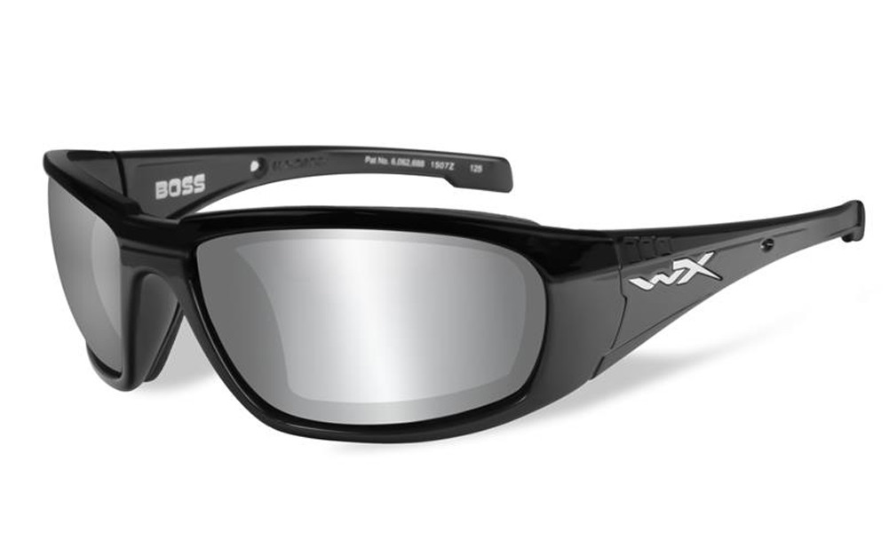 fa8944a5908 Wiley-X High Performance Eyewear Boss Sunglasses in Black with ...