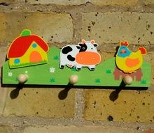 Farm Yard Coat Rack