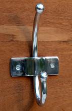 Contemporary Chrome effect Bathroom Hook