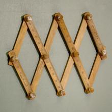 Schoolroom Novelty concertina Ruler hook
