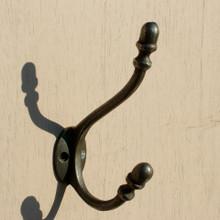 Classic Victorian Acorn Cast iron Coat Hook