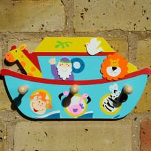 Noahs Ark Childrens Coat Rack