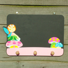 Fairy Chalk Board Coat Rack