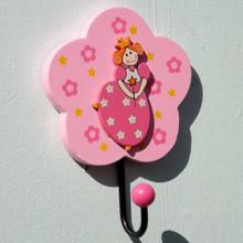 Flower Princess Pink Coat Hook