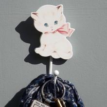 Cute kitty Cat Coat hook for Children