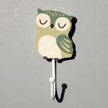 Owl Childrens Forest Coat Hook