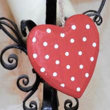Gentle Red Hanging Heart