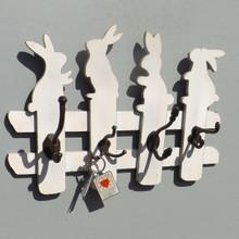 White Rabbits Coat Rack