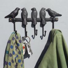 Black Birds Coat Rack
