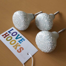 Grey Fusion Door Knobs | Lovehooks