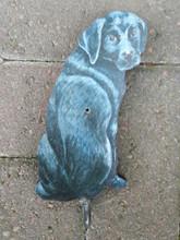 Black Labrador Coat Hook