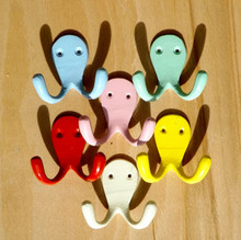 Traditional double hooks in Blue, Green, Pink, Red, Yellow and off White
