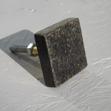 Square stone Drawer Knob