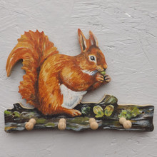 Squirrel Key Rack