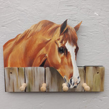 Horse Key Peg Holder