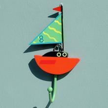 Sailing Dinghy Childrens Coat Hook