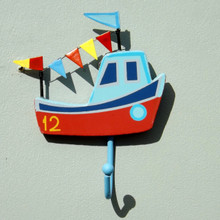 Fishing Boat Children's Hook