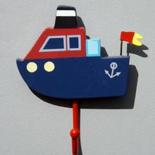 Tug Boat Childrens Hook