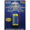2AAA NMH RECHARGEABLE PER CARD Video Battery