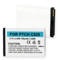 PANTECH C520 and BREEZE LI-ION 700mAh Cellular Battery