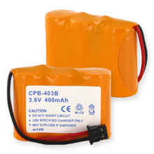 3X2 and 3AA NCAD 400mAh and B CONNECTOR Cordless Battery
