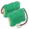 3X2 and 3AA NiMH 750mAh and D CONNECTOR Cordless Battery