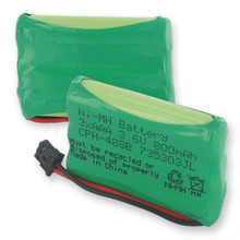 3X5 and 4AAA NiMH 800mAh and B CONNECTOR Cordless Battery