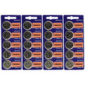 Sony Murata CR2032 3V Lithium Coin Battery - 100 Pack + FREE SHIPPING