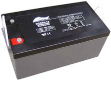 FullRiver 12 Volt 260 Amp Deep Cycle Agm Battery