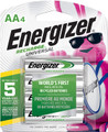 Energizer AA Rechargeable NiMH Batteries 2000 mAh - 4 Pack