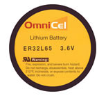 OmniCel 3.6V 1.0 Ah 1/10D Lithium Battery  - Tray Pack (7)