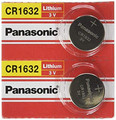 Panasonic CR1632 3V Lithium Coin Battery - 50 Pack + FREE SHIPPING!