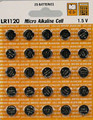 Maxell LR1120 Alkaline Button Watch Battery 1.5V - 50 Pack + FREE SHIPPING!