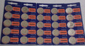 Sony Murata CR2025 3V Lithium Coin Battery - 25 Pack - FREE SHIPPING!