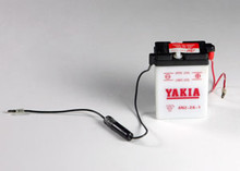 6 Volt 2 AMP Motorcycle and Power Sport Battery (6N2-2A-1)