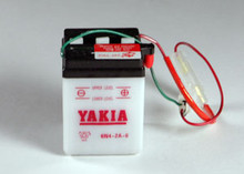 6 Volt 4 AMP Motorcycle and Power Sport Battery (6N4-2A-6)