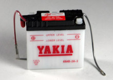 6 Volt 4 AMP Motorcycle and Power Sport Battery (6N4B-2A-3)