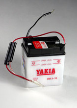 6 Volt 5.5 AMP Motorcycle and Power Sport Battery (6N5.5-1D)