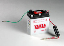 6 Volt 6 AMP Motorcycle and Power Sport Battery (6N6-1B)