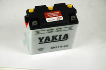 6 Volt 11 AMP Motorcycle and Power Sport Battery (6N11A-4A)