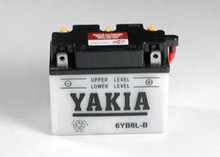 6 Volt 8 AMP Motorcycle and Power Sport Battery (6YB8-3B)