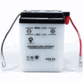 6N4-2A 6 Volt 4 Amp Hrs Conventional Power Sport Battery